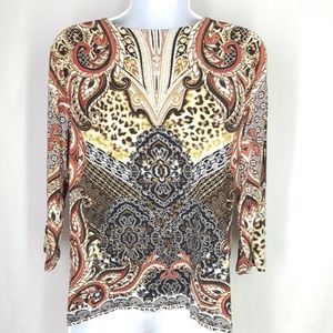Chico's Tops - Chico's blouse, size 1, women's top, blouse.